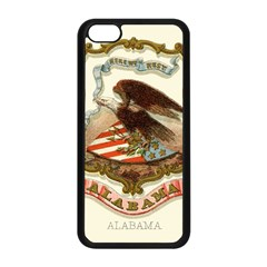 Historical Coat Of Arms Of Alabama Apple Iphone 5c Seamless Case (black) by abbeyz71