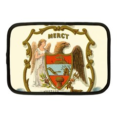 Historical Coat Of Arms Of Arkansas Netbook Case (medium)