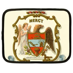 Historical Coat Of Arms Of Arkansas Netbook Case (xl)