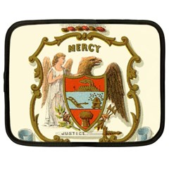 Historical Coat Of Arms Of Arkansas Netbook Case (xxl)