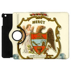 Historical Coat Of Arms Of Arkansas Apple Ipad Mini Flip 360 Case
