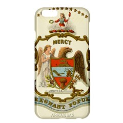 Historical Coat Of Arms Of Arkansas Apple Iphone 6 Plus/6s Plus Hardshell Case by abbeyz71