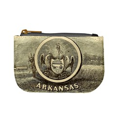 State Seal Of Arkansas, 1853 Mini Coin Purse by abbeyz71