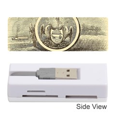 State Seal Of Arkansas, 1853 Memory Card Reader (stick) by abbeyz71