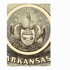State Seal Of Arkansas, 1853 Small Garden Flag (two Sides)