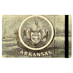 State Seal Of Arkansas, 1853 Apple Ipad 2 Flip Case by abbeyz71