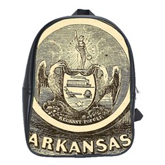 State Seal Of Arkansas, 1853 School Bag (xl) by abbeyz71
