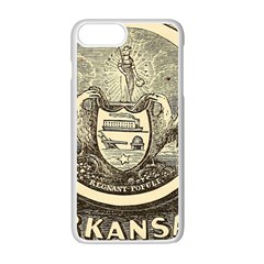State Seal Of Arkansas, 1853 Apple Iphone 7 Plus Seamless Case (white) by abbeyz71