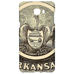 State Seal Of Arkansas, 1853 Samsung C9 Pro Hardshell Case  by abbeyz71