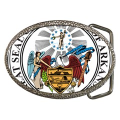 State Seal Of Arkansas Belt Buckles by abbeyz71