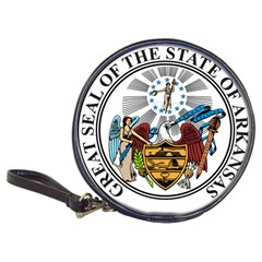 State Seal Of Arkansas Classic 20 Cd Wallets by abbeyz71