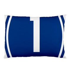 Guam Highway 1 Route Marker Pillow Case by abbeyz71