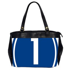 Guam Highway 1 Route Marker Oversize Office Handbag (2 Sides) by abbeyz71