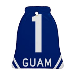 Guam Highway 1 Route Marker Bell Ornament (two Sides) by abbeyz71