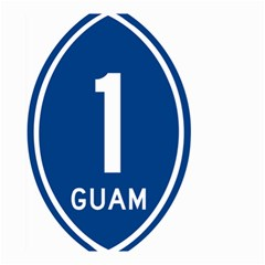 Guam Highway 1 Route Marker Small Garden Flag (two Sides) by abbeyz71