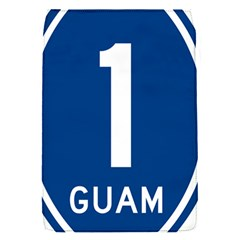 Guam Highway 1 Route Marker Removable Flap Cover (s) by abbeyz71