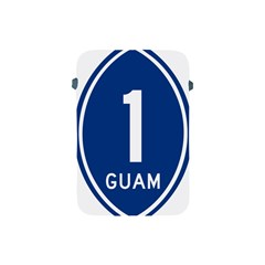 Guam Highway 1 Route Marker Apple Ipad Mini Protective Soft Cases by abbeyz71