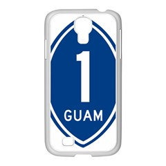Guam Highway 1 Route Marker Samsung Galaxy S4 I9500/ I9505 Case (white) by abbeyz71