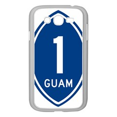 Guam Highway 1 Route Marker Samsung Galaxy Grand Duos I9082 Case (white) by abbeyz71