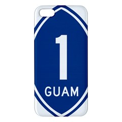 Guam Highway 1 Route Marker Iphone 5s/ Se Premium Hardshell Case by abbeyz71