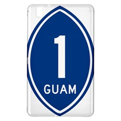 Guam Highway 1 Route Marker Samsung Galaxy Tab Pro 8 4 Hardshell Case by abbeyz71