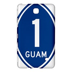 Guam Highway 1 Route Marker Samsung Galaxy Tab 4 (8 ) Hardshell Case  by abbeyz71