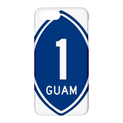 Guam Highway 1 Route Marker Apple Iphone 8 Plus Hardshell Case by abbeyz71