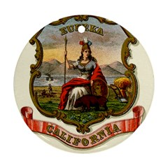 Historical Coat Of Arms Of California Ornament (round) by abbeyz71