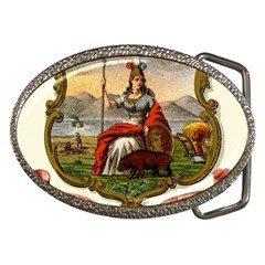 Historical Coat Of Arms Of California Belt Buckles by abbeyz71