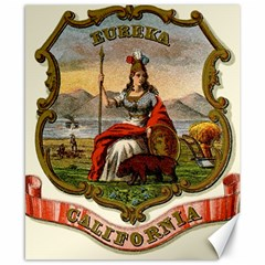 Historical Coat Of Arms Of California Canvas 8  X 10  by abbeyz71