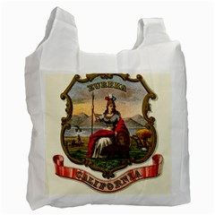 Historical Coat Of Arms Of California Recycle Bag (one Side) by abbeyz71