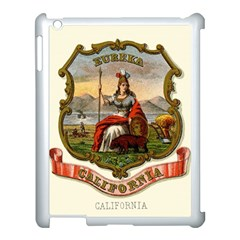 Historical Coat Of Arms Of California Apple Ipad 3/4 Case (white) by abbeyz71