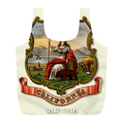 Historical Coat Of Arms Of California Full Print Recycle Bag (l) by abbeyz71
