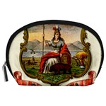 Historical Coat of Arms of California Accessory Pouch (Large) Front