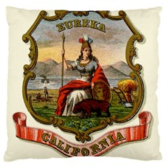 Historical Coat Of Arms Of California Large Flano Cushion Case (one Side) by abbeyz71