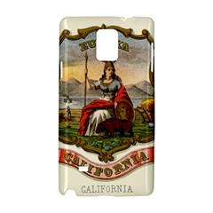 Historical Coat Of Arms Of California Samsung Galaxy Note 4 Hardshell Case by abbeyz71
