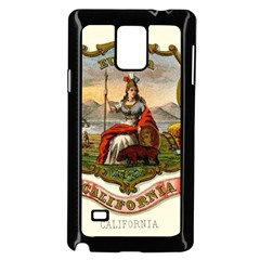 Historical Coat Of Arms Of California Samsung Galaxy Note 4 Case (black) by abbeyz71