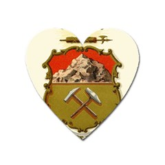 Historical Coat Of Arms Of Colorado Heart Magnet by abbeyz71