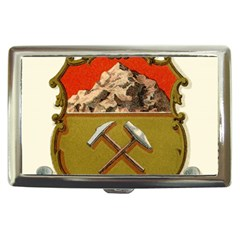 Historical Coat Of Arms Of Colorado Cigarette Money Case