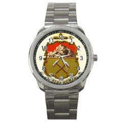 Historical Coat Of Arms Of Colorado Sport Metal Watch by abbeyz71