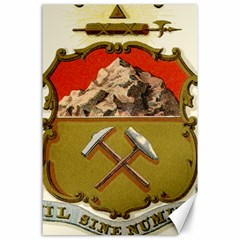 Historical Coat Of Arms Of Colorado Canvas 24  X 36  by abbeyz71