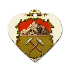 Historical Coat Of Arms Of Colorado Dog Tag Heart (two Sides) by abbeyz71