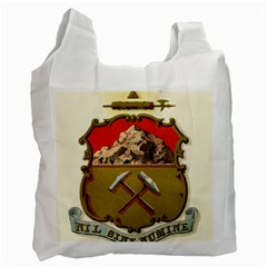 Historical Coat Of Arms Of Colorado Recycle Bag (one Side) by abbeyz71