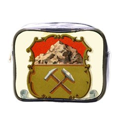 Historical Coat Of Arms Of Colorado Mini Toiletries Bag (one Side) by abbeyz71