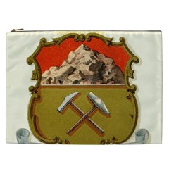 Historical Coat Of Arms Of Colorado Cosmetic Bag (xxl) by abbeyz71