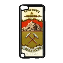 Historical Coat Of Arms Of Colorado Apple Ipod Touch 5 Case (black) by abbeyz71