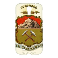 Historical Coat Of Arms Of Colorado Samsung Galaxy S4 I9500/i9505 Hardshell Case