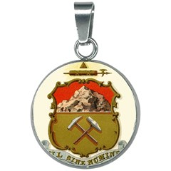 Historical Coat Of Arms Of Colorado 20mm Round Necklace by abbeyz71