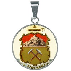 Historical Coat Of Arms Of Colorado 25mm Round Necklace by abbeyz71