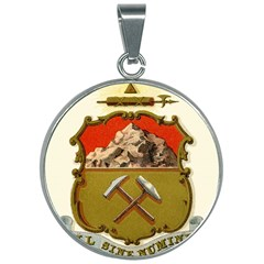 Historical Coat Of Arms Of Colorado 30mm Round Necklace by abbeyz71